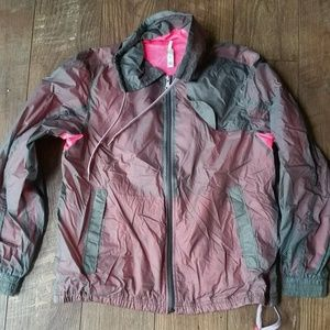 GAP Body Convertible Gray Pink Run Jacket M